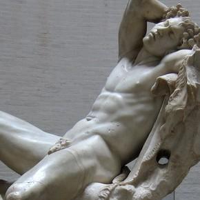 Le Faune Barberini. . .